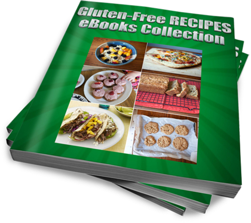 Product picture Gluten-Free RECIPES eBooks Collection