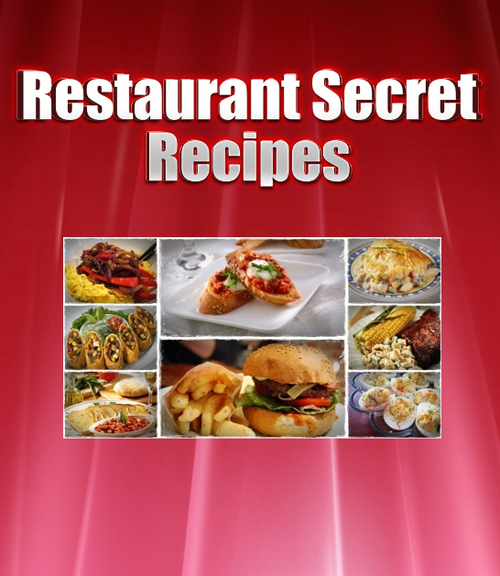 Product picture Restaurant Secret Recipes