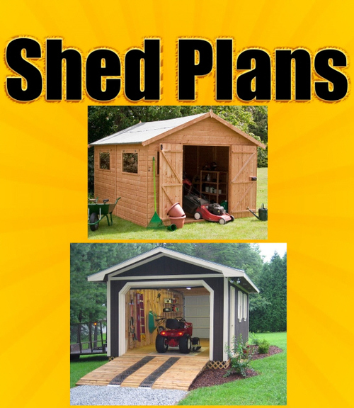 Product picture SHED PLANS