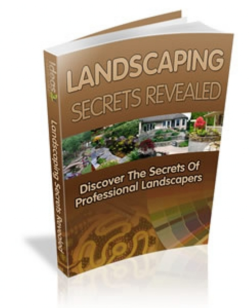 Product picture Ideas for LANDSCAPING eBooks