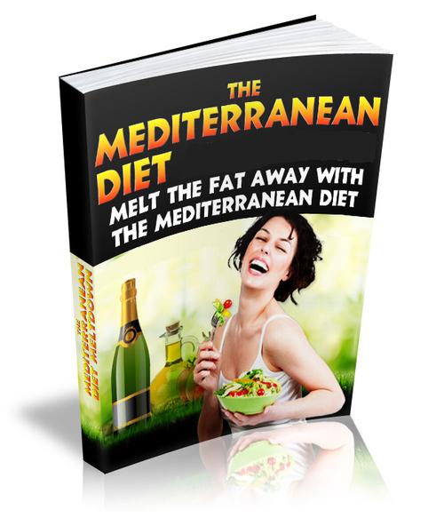 Product picture Mediterranean Diet Recipes EBOOKS